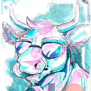 PATREON - PORTRAIT À L'AQUARELLE